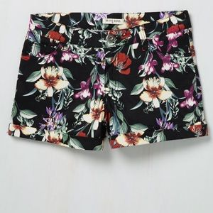 ModCloth Life of the Luau Shorts in Black